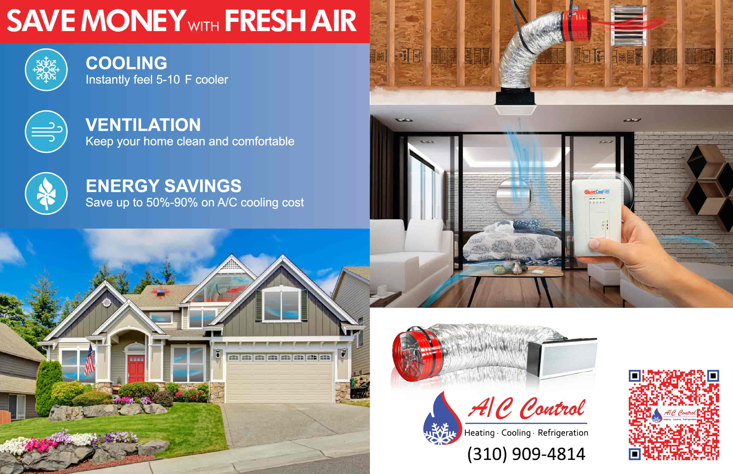 Save Money with Fresh Air Flyer